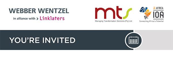 Webber Wentzel Invitation Banner